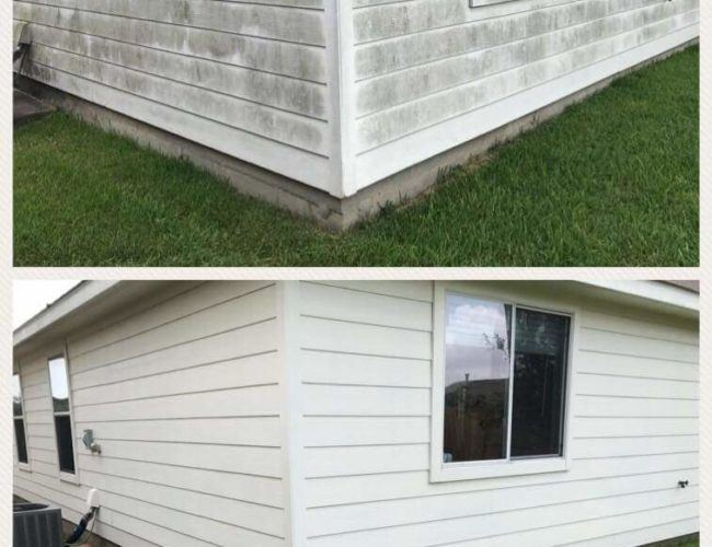 power washing fredericksburg before and after